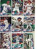 Texas Rangers / Complete 2018 Topps Series 1 Baseball 10 Card Team Set! PLUS 2017 Topps Series 1 & 2 Rangers Team Set!