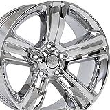 OE Wheels 20 Inch Fits Chrysler Aspen Dodge Dakota Durango Ram 1500 Night Edition Style DG65 Chrome 20x9 Rim Hollander 2453