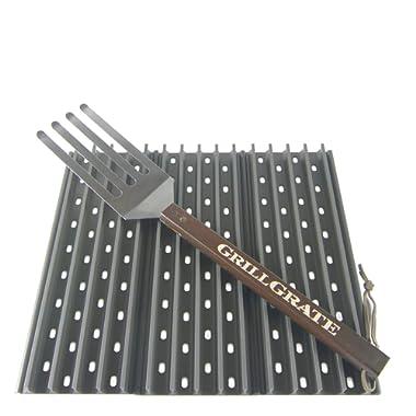 GrillGrate Set of Three 13.75  (Interlocking) + Grate Tool