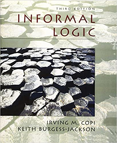 understanding arguments an introduction to informal logic free