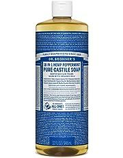 Dr. Bronner's Magic Soaps Pure-Castile Soap, 18-in-1 Hemp, Peppermint, 32 oz