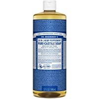 Dr. Bronner's Pure Castile Liquid Soap Peppermint 946mL