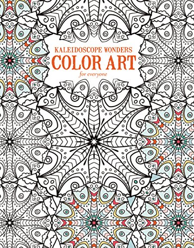 Kaleidoscope Wonders: Color Art for Everyone Image