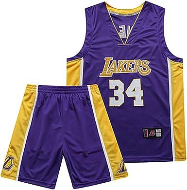 Uniforme de Baloncesto Shaquille ONeal de Los Angeles Lakers No ...