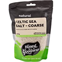 Honest to Goodness Celtic Sea Salt - Coarse, 1 x 600 g