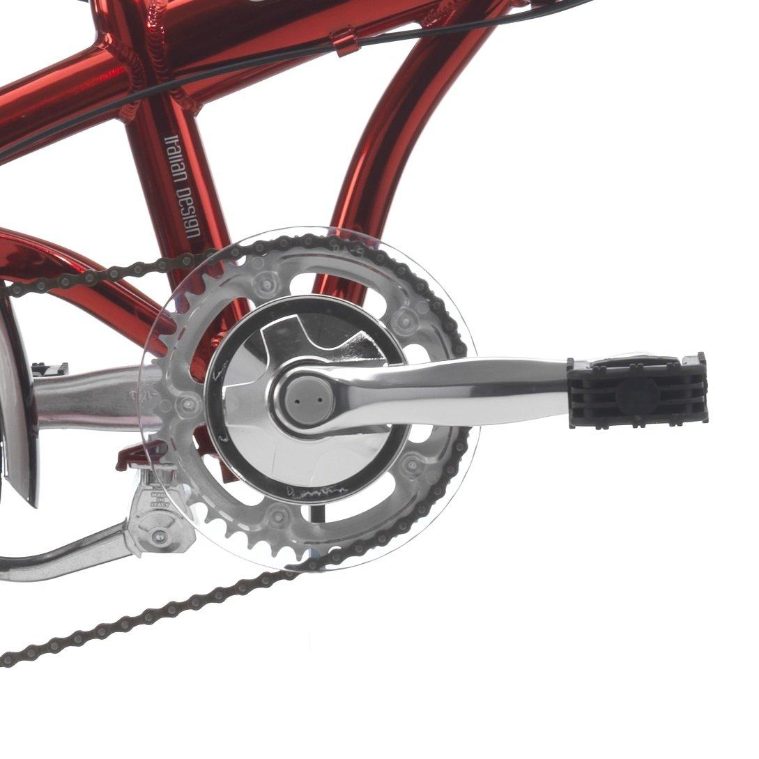 Cicli Cinzia: bicicleta plegable Hopper Aluminium 20, Hombre, rojo: Amazon.es: Deportes y aire libre