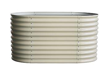 Exeta 1a Hochbeet Krauterbeet Model 2018 Oval 82 X 160 X 80 Cm