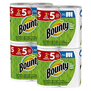 Ratings and reviews for Bounty Select-a-Size Paper Towels, White, Huge Roll, 8 Count