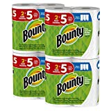 #4: Bounty Select-a-Size Paper Towels, White, Huge Roll, 8 Count