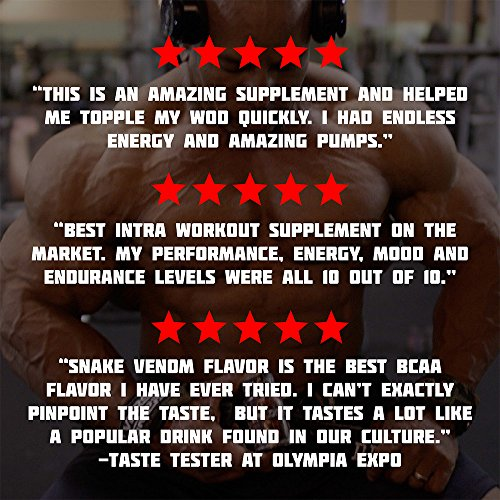 ENDUR3 Intra Workout BCAA Supplement | 4:1:1 Ratio of Trademarked Amino Acid Blend at Clinical Dosage | Best Drink for Endurance & Recovery | 30 Servings (Unicorns Blood) by Olympus Labs (Image #5)