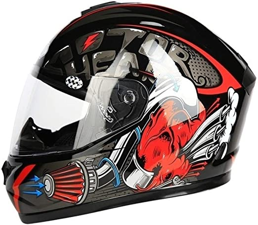 JIEKAI Off-Road Moto Cascos Integrales Motocross Gorras De ...