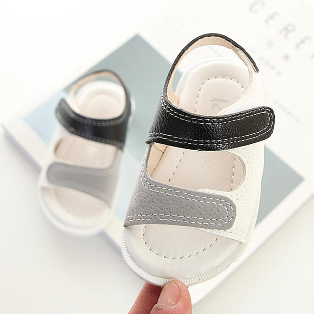 QinMM B/éB/é Sandales Bout Ouvert Gar/çon Sneaker Plage Sneaker Toddler Enfants Patchwork Casual Chaussures Simples L/ég/ères /Ét/é Mous Sport Romaines