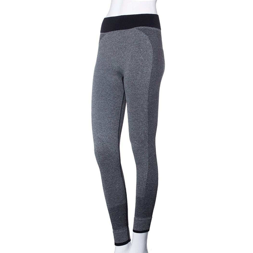 HARRYSTORE Mujer pantalones deportivos y elásticos de yoga Leggings para damas Fitness