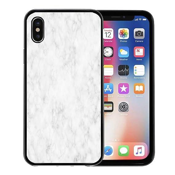 cheap for discount db443 62cbd Amazon.com: Semtomn Phone Case for Apple iPhone Xs case,Gray Granite ...
