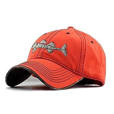 71d9d5f7b714e Fishbone Logo Unisex Baseball Cap