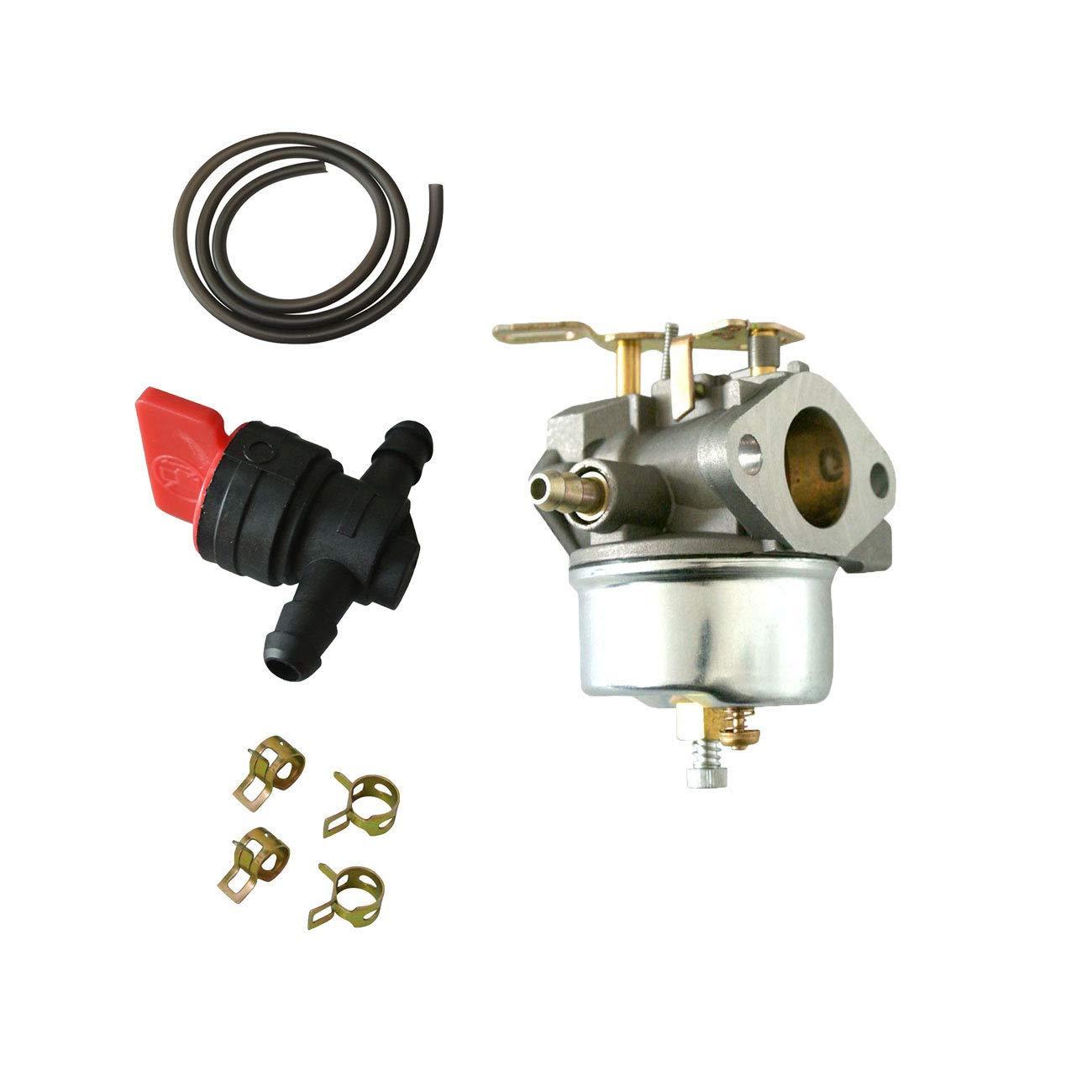 FidgetKute Carburetor Fuel Line Fit Tecumseh 632334A 632334 632111 HM70 HM80 HMSK80 HMSK90