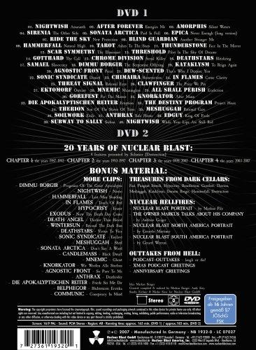 Amazon 20 Years Of Nuclear Blast Movies TV