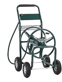 Yaheetech 300Ft Garden Hose Reel Cart,Green