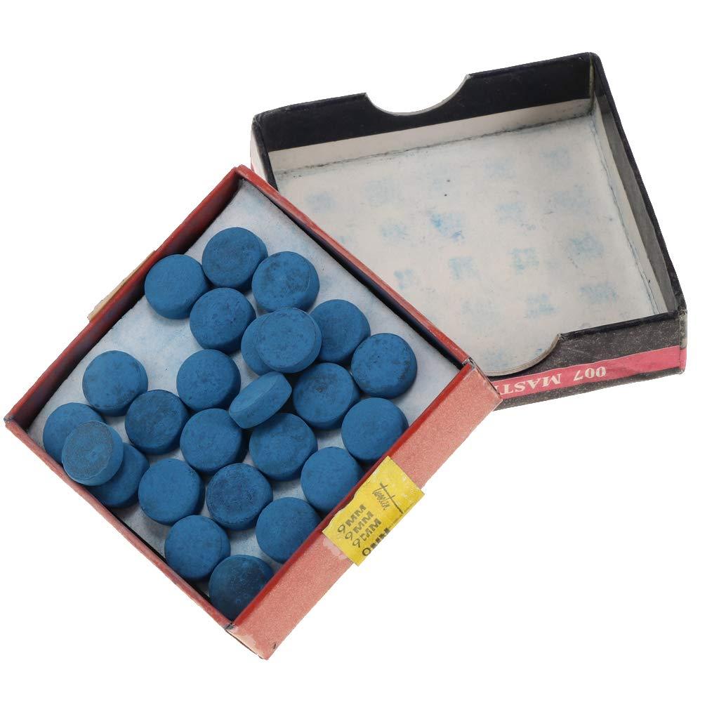 IPOTCH 50 Pedazos de Tapas de Protección Cabezal de Pala de Billar, Cubierta de Cabeza de Palo de Sustitución