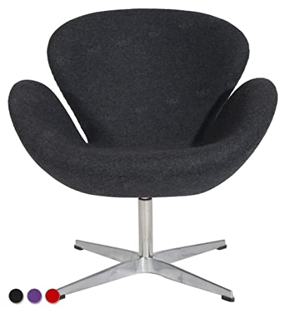 Surprising Amazon Com Mlfreg Arne Jacobsen Swan Lounge Chair In Dark Ocoug Best Dining Table And Chair Ideas Images Ocougorg
