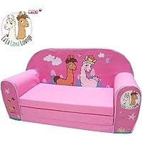 Knorrtoys La-La-Lama Lounge sofá para niños Rosa