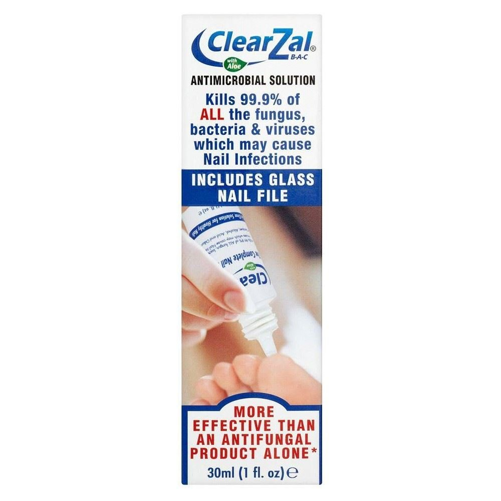 Clearzal B-A-C - The Complete Nail System, 30ml