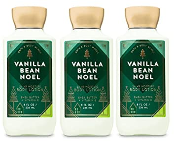 Lot Noel Amazon.: Bath and Body Works Vanilla Bean Noel Body Lotion