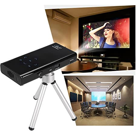 Flylinktech E06S Mini DLP Projector WiFi Home Cinema HD Bluetooth ...