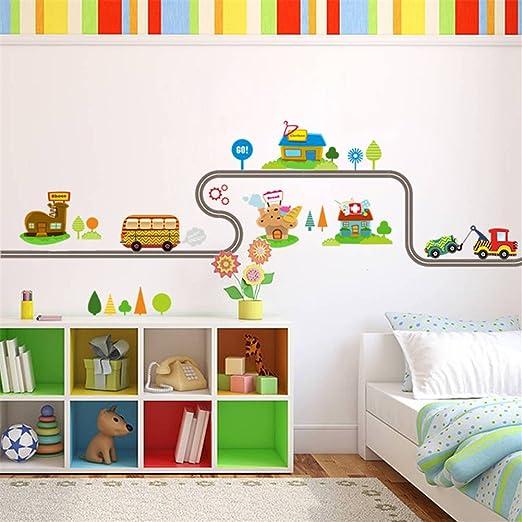 Dinosaur Nursery Decal Baby Boy Wallpaper Border Wall Art Stickers Kids Room