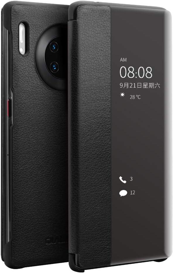 SWMGO® Cuero Funda para Huawei Mate 30 Pro 5G/Huawei Mate 30 Pro ...