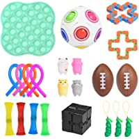 Sensory Fidget Toys Set, Fidget Toy Set Annoying Toys To Relieve Stress And Anxiety for Kids and Adults with Anxiety…
