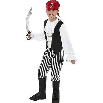 Traje de pirata para niños bucanero infantil disfraz ...