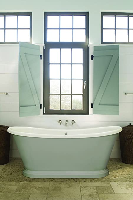 BC Designs Boat Acrylic Freestanding Bath 1580mm X 750mm