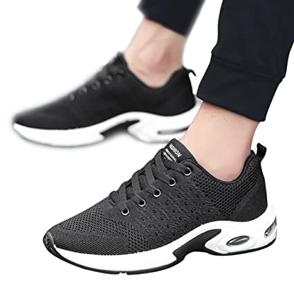 c62a4dfb5dca Amazon.com: Gyoume Men Sports Shoes Walking Shoes Boys Gym Shoes ...