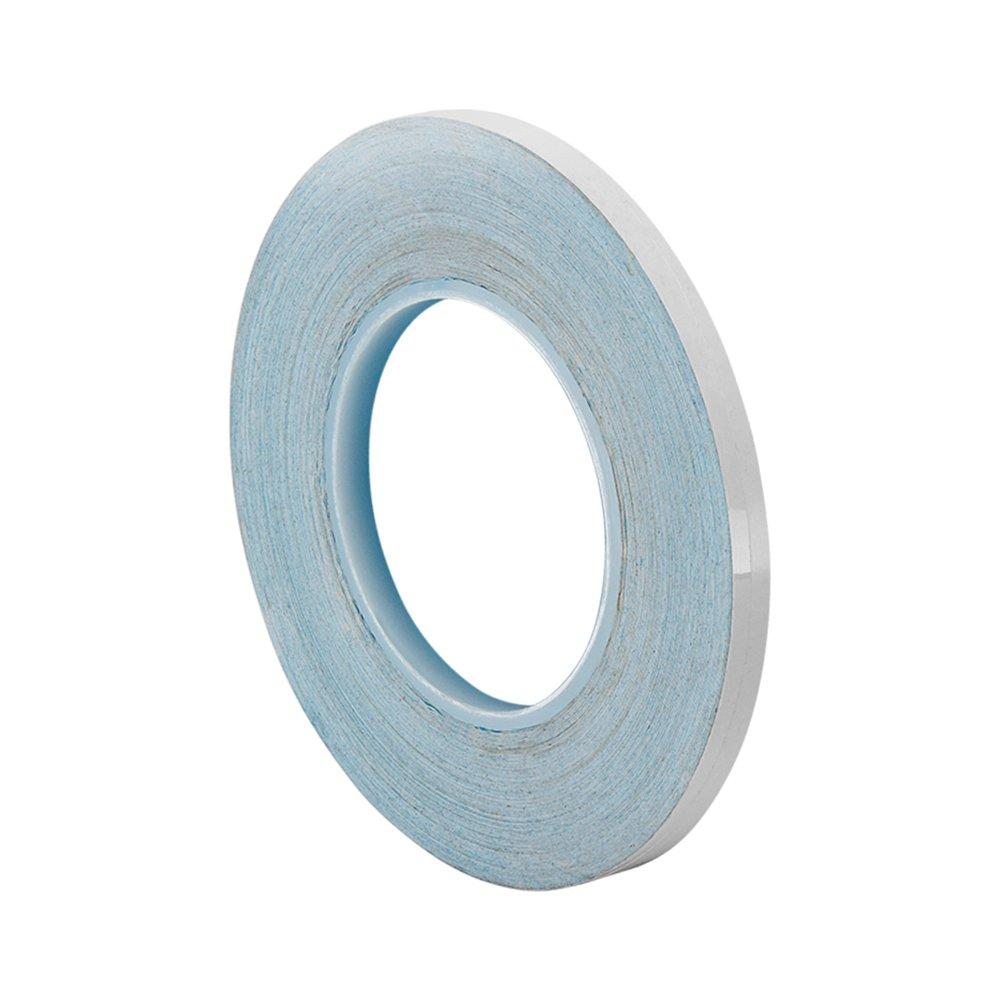 TapeCase 3M 8805 Cinta adhesiva de transferencia t/érmica de pol/ímero acr/ílico blanco de 3 m x 91 m 0,75 m de espesor Largo 0.125 pulgadas de ancho