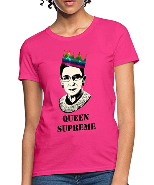 8e943f9ed764 Amazon.com  Spreadshirt Queen Supreme Notorious RBG Women s T-Shirt ...
