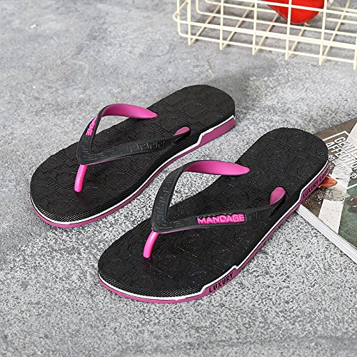 Sandali Flip Sandali Uomo Flip Pantofole Flip Wear Uomo Red Pantofole The Uomo Slip AIHUWAI Sandali Sandali Summer qXOPw