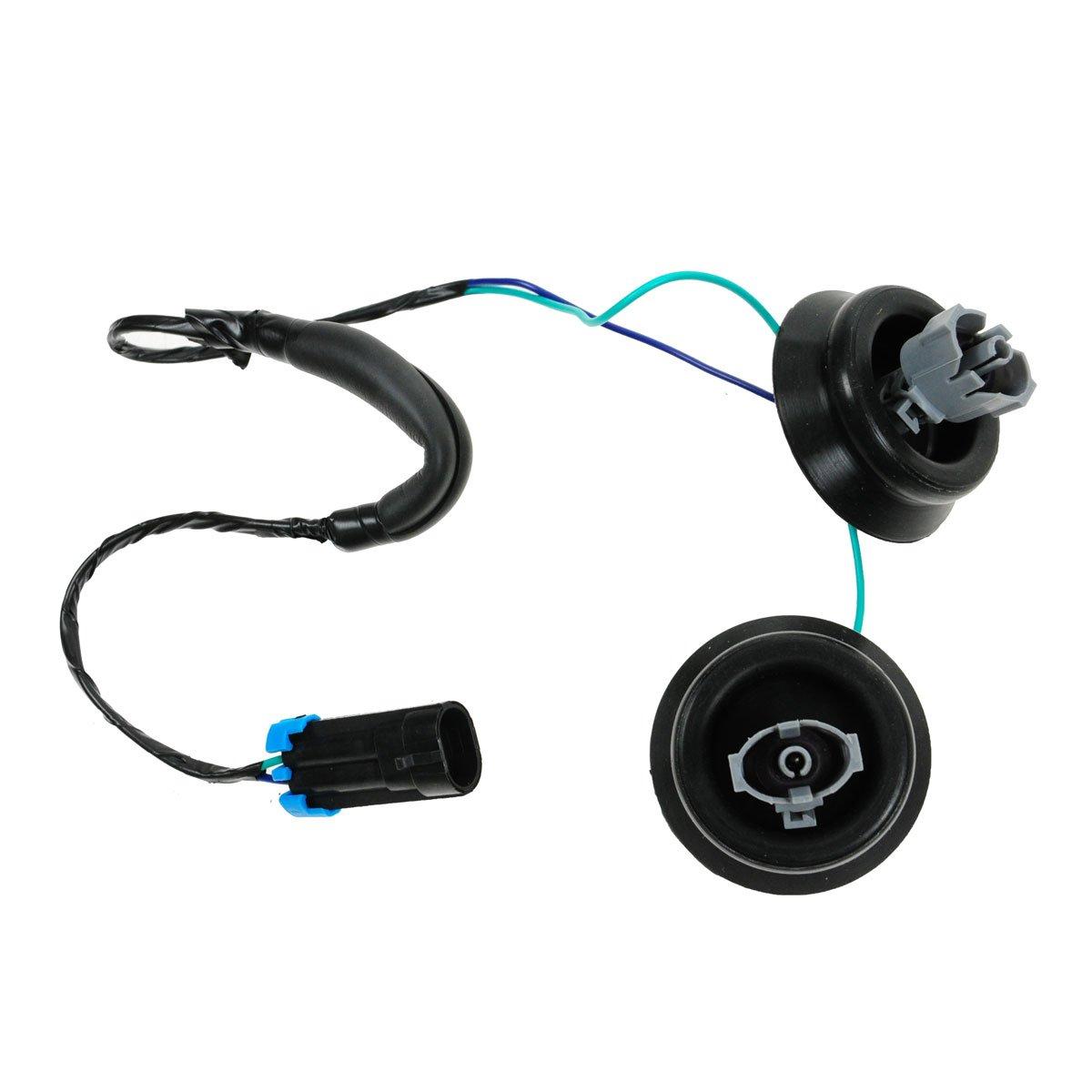 Knock Sensor with Harness Pair Kit Set for Chevy GMC Silverado Sierra Cadillac