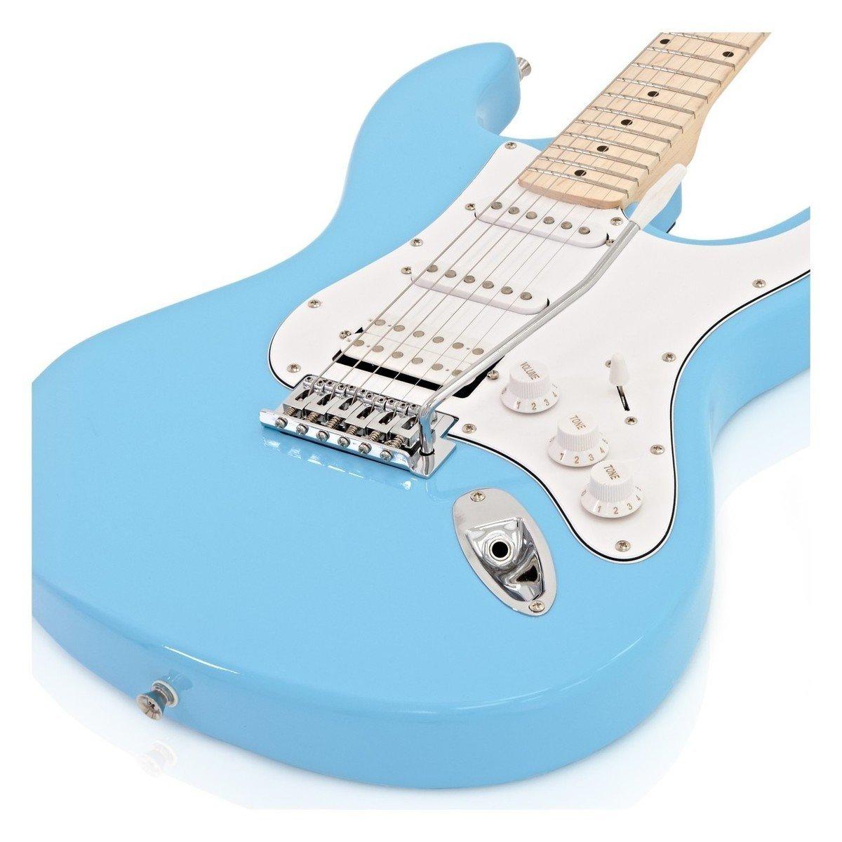 LA II Electric Guitar HSS + Amplificador Sky Blue: Amazon.es: Instrumentos musicales