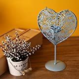 Daeou Heart-shaped candlestick iron ornaments candle Taiwan crafts decorative ornaments