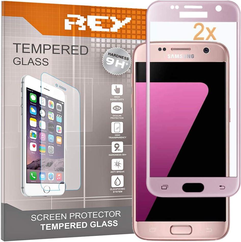 Rey Pack 2x Panzerglas Schutzfolie Für Samsung Galaxy Elektronik