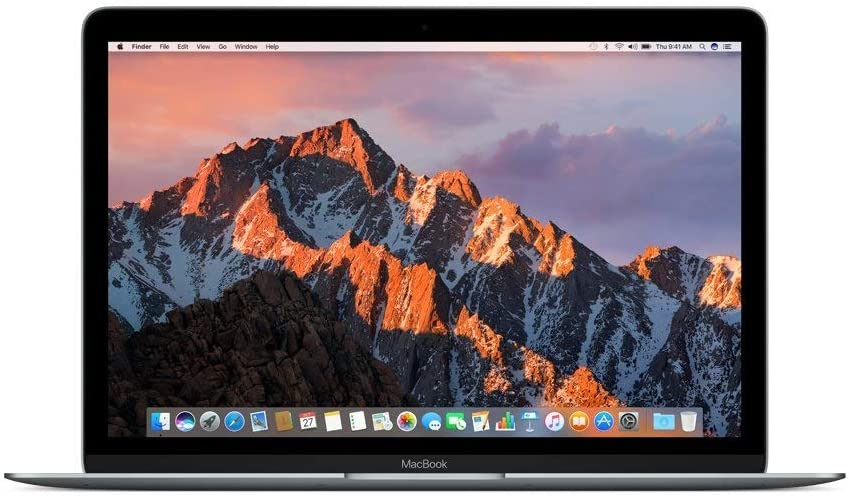 Apple MNYG2LL/A 12in MacBook, Retina, 1.3GHz Intel Core i5 Dual Core Processor, 8GB RAM, 512GB SSD, Mac OS, Space Gray (Newest Version) (Renewed)