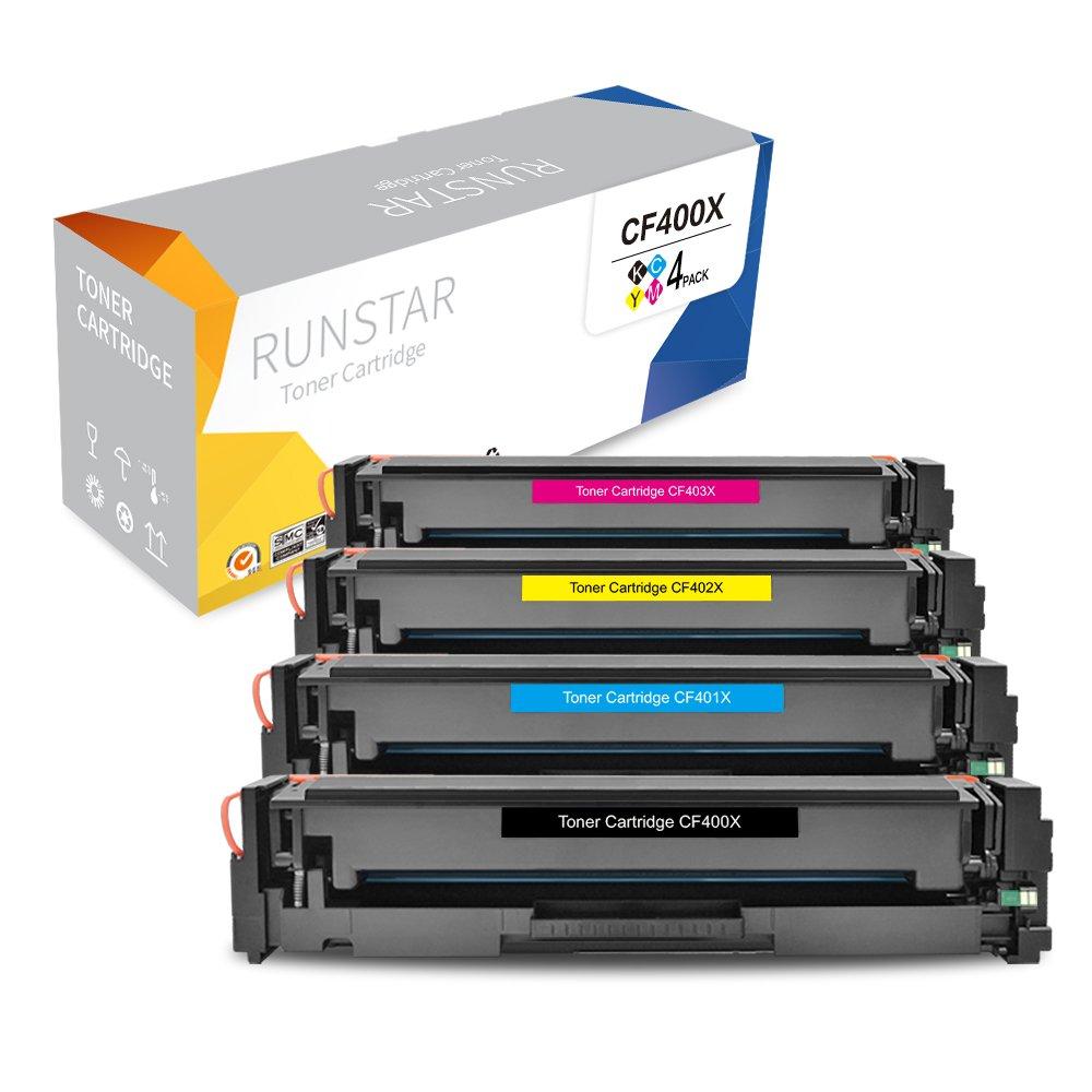 4pk for HP 201X Color Toner Set LaserJet Pro MFP M277dw M277 M252dw M252 CF400X
