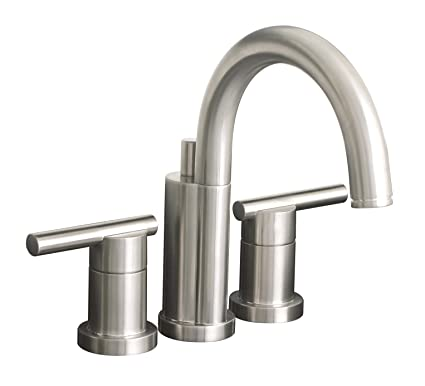 Magnificent Premier 120332Lf Essen Lead Free Mini Widespread Lavatory Faucet Pvd Brushed Nickel Home Interior And Landscaping Transignezvosmurscom