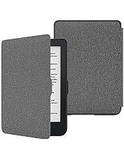 """MoKo Hoes voor Kobo Clara HD 6 """"Case - De dunste en lichtste beschermhoes Smart Cover met Auto Sleep/Wake voor Kobo Clara HD 6 inch eReader, Denim-grijs"""