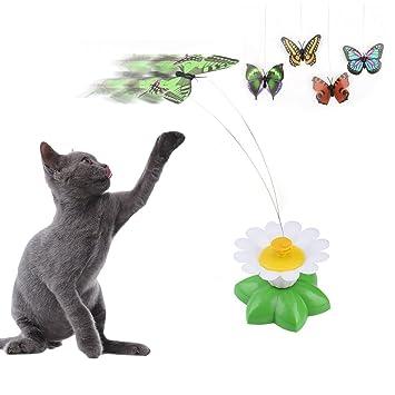 jouet chat volant
