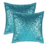 Want a Pillow Cover to for your home / wedding decor or special festival celebration? The PONY DANCE sequin pillow cover is a perfect choice for you. It adds some sparkle to your living room, bedroom, den or any room. Great for everyda...