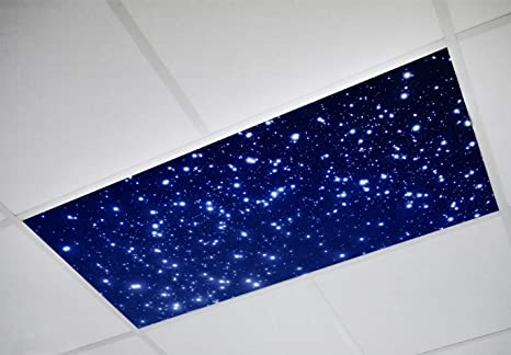 Fluorescent Light Covers >> Astronomy 001 Fluorescent Light Filters 2 X4 High Pixel Light Covers For Classroom Office Hospital And Building Decorative Ceiling Bright