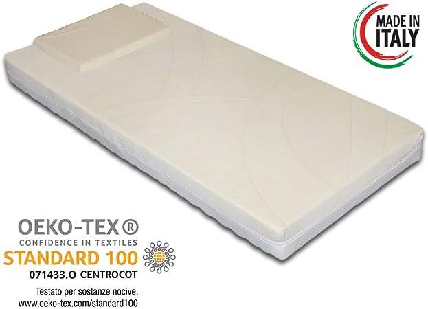 Materasso Antisoffoco Su Misura.Materasso Per Culla Lettino Bimbo Antisoffoco Misura 60x125 Cm