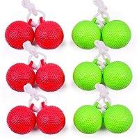 Keehoo Indoor/Outdoor Ladder Toss Bolas Replacement Soft Balls Safe for Children(6 Pack)